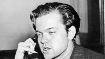 Orson Welles el 1938, l'any de 'Too much Johnson' i 'La Guerra dels Mons' AFP