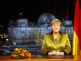 Molts països de la perifèria del sud d'Europa han criticat el paper de Merkel en la crisi.  ARXIU