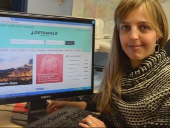 Teresa Plana, creadora i impulsora del portal Lostravels.  ARXIU LOSTRAVELS