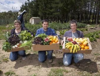 Treballadors de La Tavella, que s'integra a la cooperativa 2146 Mans Foto:ARXIU