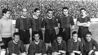 Imatge del FC Barcelona de la temporada 1939-1940