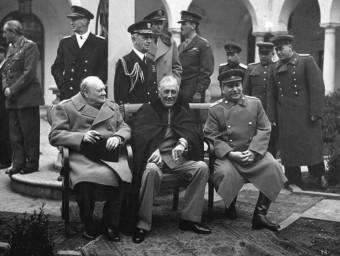 A Yalta es va negociar l'ordre internacional de després de la caiguda del nazisme.  ARXIU