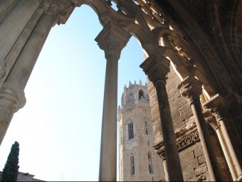 La Seu Vella de Lleida, un dels espais de la Ruta 1714, i que Felip V va convertir en caserna després del setge J.T