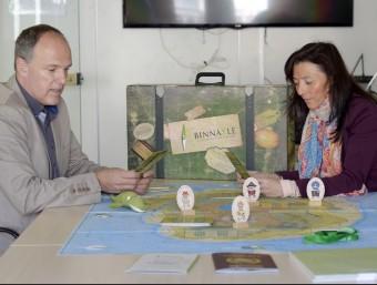 Philippe Delespesse i Lourdes Cateura, socis directors de Binnakle Innovation Game.  JUDIT TORRES