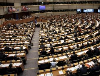 Una sessió plenària del Parlament Europeu.  ARXIU