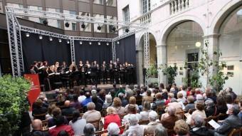 Un concert DEL PATI CULTURAL DE L'ANY PASSAT PERE DURAN
