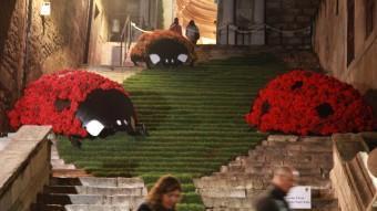Les escales de Sant Martí, UN CLÀSSIC DE FLORS, EN LA JORNADA NOCTURNA L'ANY PASSAT J.SABATER