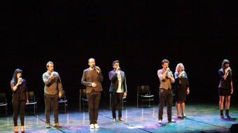 The Swingle Singers, dissabte a l'Auditori de Girona JOAN SABATER