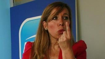 La líder del PP català, Alícia Sánchez-Camacho Foto:EFE