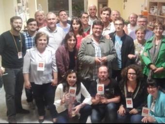 Representants de Compromís de la comarca Safor - Valldigna. RAÜL NAVARRO