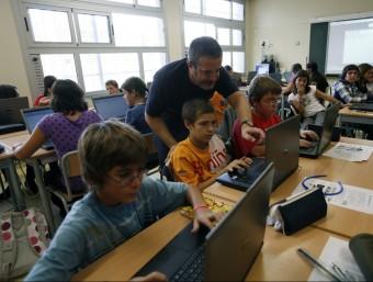 """""""Observant potser ens adonarem que les aules, en general, no estan gaire adaptades a l'ús de les noves tecnologies"""".  ARXIU"""