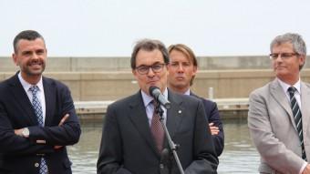 El president de la Generalitat, Artur Mas, ha inaugurat aquest dissabte la remodelació del Port de Colera ACN