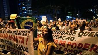 protestes a la favela