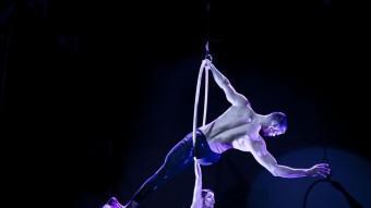 Teatre i acrobàcia.  L'ESPECTACLE 'CIRCUS CABARET' FA LES DARRERES SESSIONS A L'ASTORIA. VA ARRENCAR EL DESEMBRE PASSAT JUAN PABLO ESCOBAR