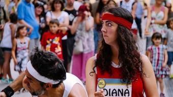 Diana Gaddish EN UNA ACCIÓ DE CARRER A L'EDICIÓ DE FESTUS DE L'ANY PASSAT FESTUS