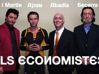Els economistes mediàtics s'han convertit en personatges del Polònia de TV3