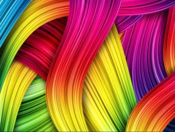 És important treballar els colors abans d'una sesió creativa.  ARXIU