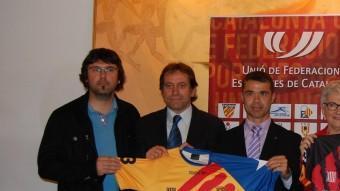 Samarreta de la selecció catalana d'hoquei arxiu