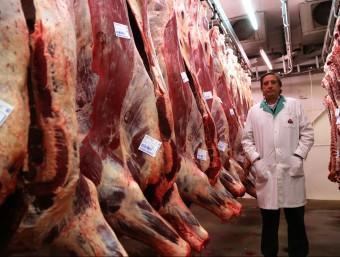 Viñals Soler, d'Argentona, és un exemple d'indústria càrnia catalana que ha sabut veure en els mercats exteriors una, i potser la única, possibilitat per créixer.  Foto:QUIM PUIG