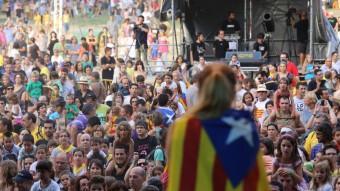 Una imatge de l'edició de l'any passat, al parc de la Devesa de Girona A. PUIG
