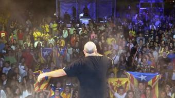 Titot de Brams, dissabte a les Jornades Catalunya, Llibertat i Dignitat MANEL LLADÓ