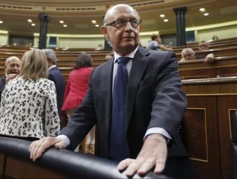 Montoro ha reconegut el fracàs d'una iniciativa seva.  Foto:EFE