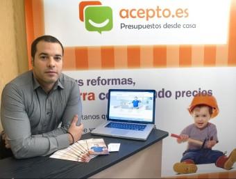 Jorge Ródenas va fundar Acepto.es el 2009 juntament amb un altre soci.  JOSEP LOSADA