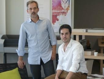 Carlos Infantes i Rubén Martínez socis del nou projecte.  JOSEP LOSADA