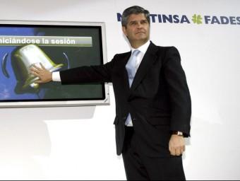 Fernando Martín, president de Martinsa-Fadesa, protagonista del concurs de creditors més gran de l'Estat.  Foto:EFE