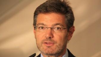 El ministre espanyol de Justícia, Rafael Catalá ACN