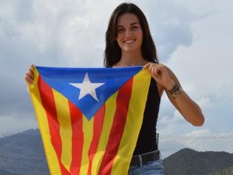 Helena Boada , a favor de la independència de Catalunya Foto:PLATAFORMA PRO SELECCIONS ESPORTIVES CATALANES