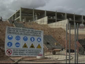 La prevenció de riscos laborals és una activitat que cada vegada se segueix més a l'empresa catalana.  Foto:ARXIU /LLUÍS SERRAT