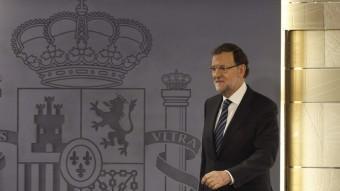 El president espanyol, a la Moncloa EFE