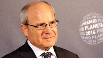 L'expresident de la Generalitat, José Montilla, abans de l'entrega dels Premi Planeta ACN