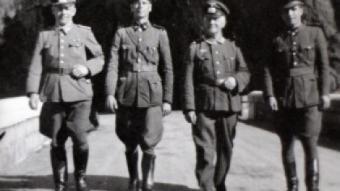 Nazis al Pont de Rei al municipi de Bausen a la Vall d'Aran.  TV3
