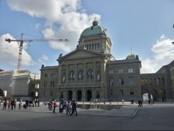Edifici del Banc Nacional de Suïssa a Berna.  ARXIU