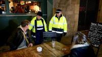Els conciliadors cívics són una figura que ja va patrullar la ciutat de nit l'any 2014