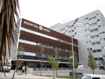 Façana de l'Hospital Quirón Barcelona, integrat dins del primer grup hospitalari espanyol nascut de la fusió entre IDC Salut i el grup Quiron.  Foto:ARXIU / ORIOL DURAN