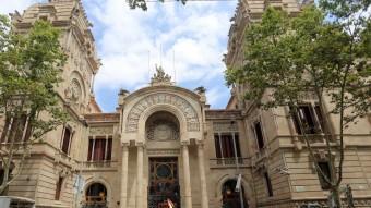 Façana del Palau de Justícia de Barcelona, seu del TSJC Foto:QUIM PUIG / ARXIU