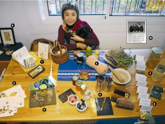 Yoko Kataoka. Illustrator and Print Maker Photo:Manel Lladó