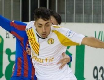 Eric Martel, en una imatge d'arxiu, va fer tres gols contra El Pozo M.S.C