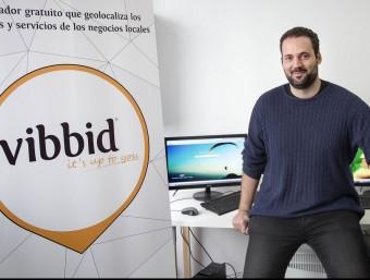 Miquel Àngel Méndez és un dels socis fundadors de Vibbid.  JOSEP LOSADA
