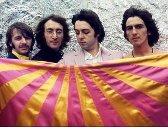 Molts creadors han utilitzat els efectes de les drogues, com ara The Beatles, que van experimentar amb l'àcid lisèrgic.  Foto:ARXIU