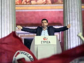 La victòria de Syriza i la demanda de quitació del deute grec ja no fan por a Brussel·les.  ARXIU / EFE