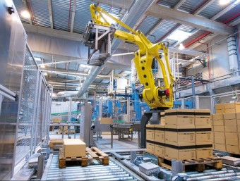 L'activitat industrial està augmentant darrerament.  ARXIU