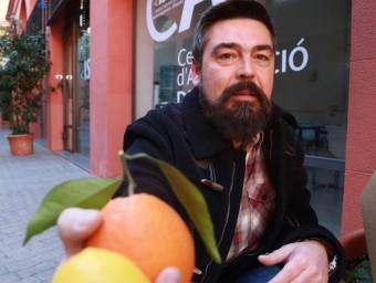 Guillem Espinach és el fundador del portal Taronges Nostres.  ANDREU PUIG