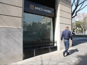 Els filtres de Banco Madrid van deixar passar 14 clients amb qui no podia establir relacions.  Foto:ACN