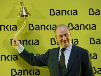 Les targetes opaques de Bankia, un cas clar d'ús indegut.  AFP