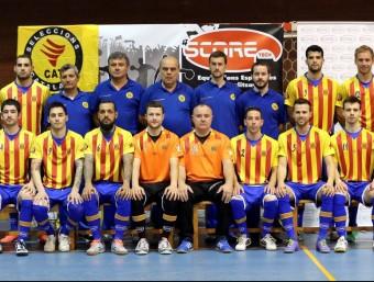 La selecció que va disputar el campionat d'Europa i que es va guanyar el dret a disputar el campionat del món FCFS