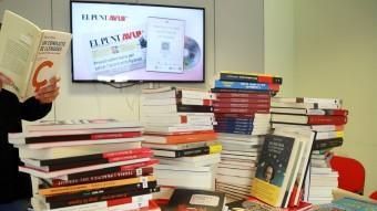 Llista de llibres i autors i i imatge d'alguna capçalera 3 Foto:ANDREU PUIG